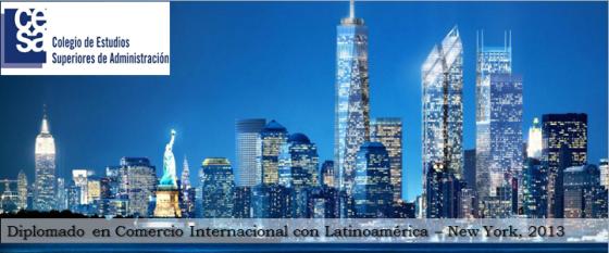 CESA- Diplomado Comercio Internacional . New York 2013
