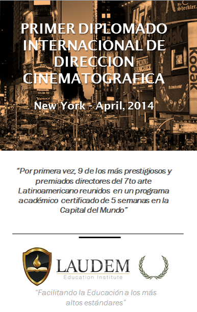 Diplomado Direccion Cine, New York, 2014