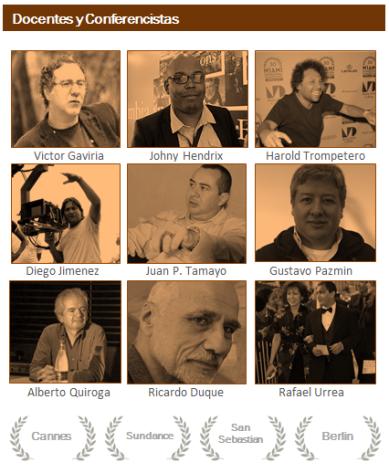 Productores, directores y realizadores de Cine premiados en festivales de todo el mundo.